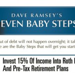Dave Ramsey's 7 Baby Steps: Step 4 – Invest 15% (Or More!) Of Your Income