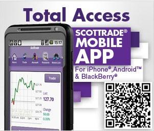 Scottrade mobile apps