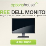 OptionsHouse Brokerage Signup Bonus: Free 24″ Dell Monitor