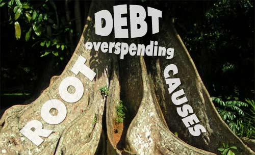 debt and overspending