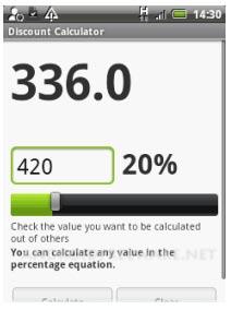 discount calculatory app