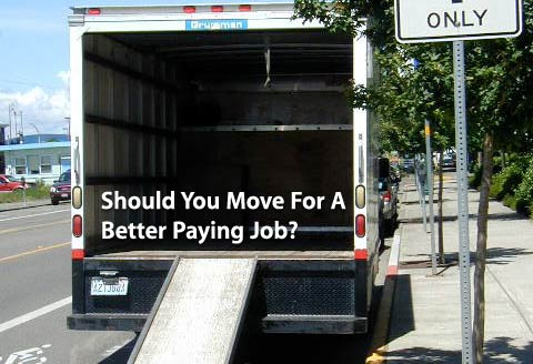 move for a better paying job