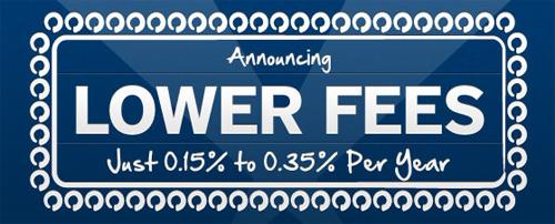 Betterment Lowers fees