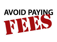 avoid paying fees
