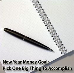 pick one goal